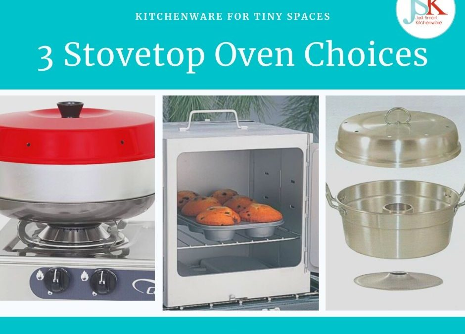 3 Stove Top Oven Choices – the Omnia, Wonder Pot & Coleman Camp Oven